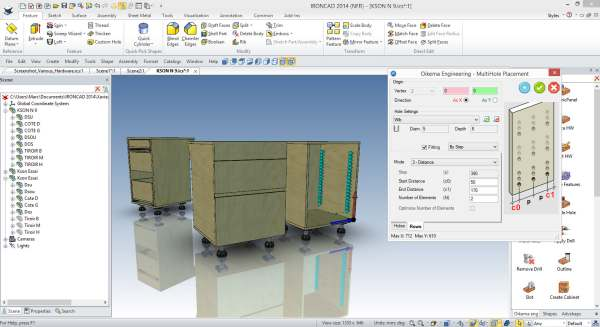 woodLAB IronCAD is user friendly