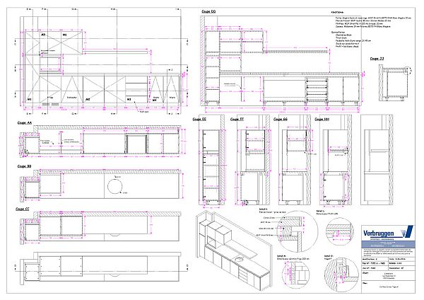 woodLAB IronCAD auotmatically generates dynamic 3D drawings